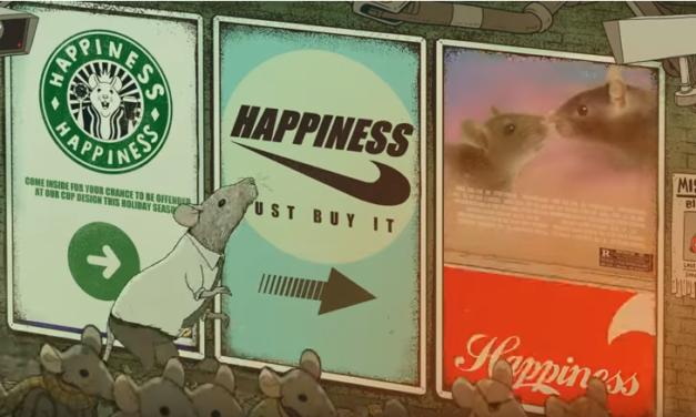 Τι συμβαίνει όταν η ευτυχία μας ορίζεται από υλικά αγαθά; (Video)