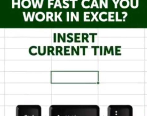 Μερικά χρήσιμα shortcuts για το Excel (#thankmelater)
